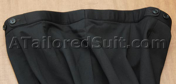 adjustable trouser side straps