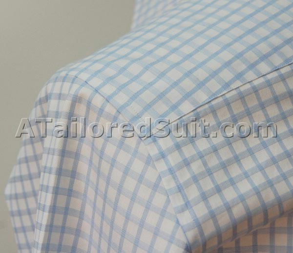 mens custom shirt shoulder
