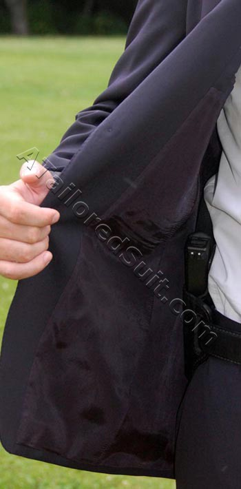 concealed carry mens suit
