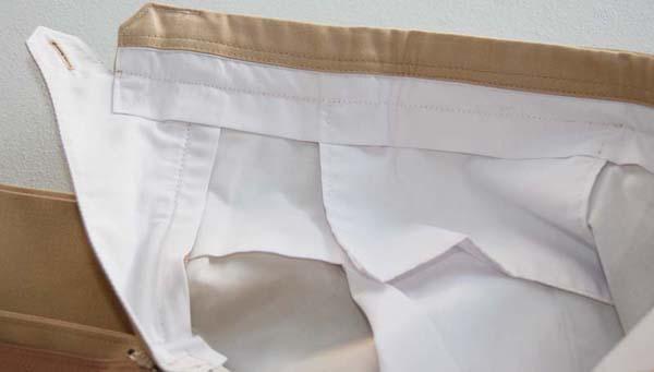 light built tan trousers khaki