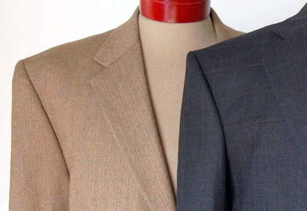 light colored mens suit khaki tan