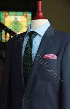 men's blazer jacket green tie