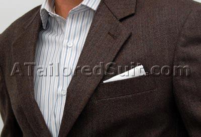 Square Pocket Handkerchief Fold