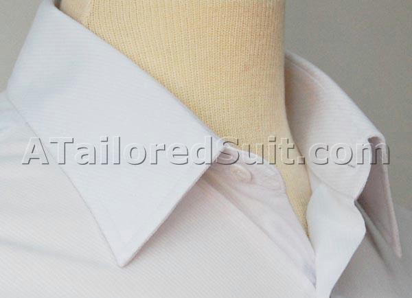 white collar dress shirt