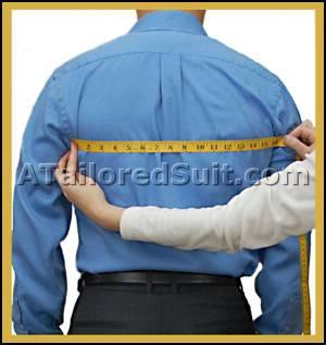 Men's Back Chest Measurement