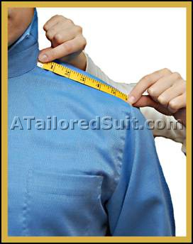 Men's Half Shoulder Measurement