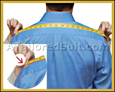 Male Full Shoulder Measurement