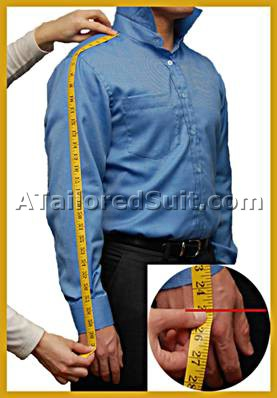 men 39 s custom suit measurements how to measure for a