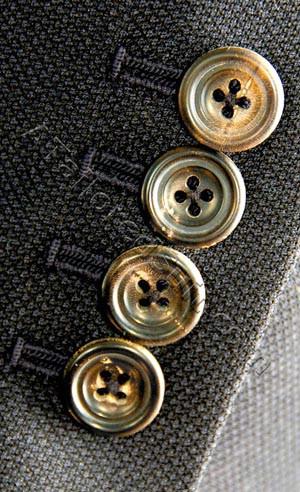 four horn jacket sleeve buttons