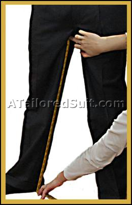 Men's Trouser Inseam Measurement