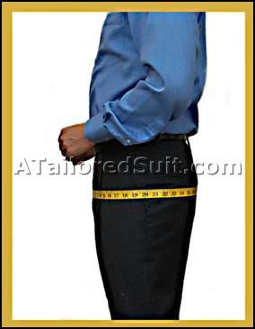 Male Hip Measurement