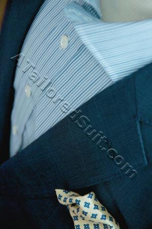 pocket square men's jacket