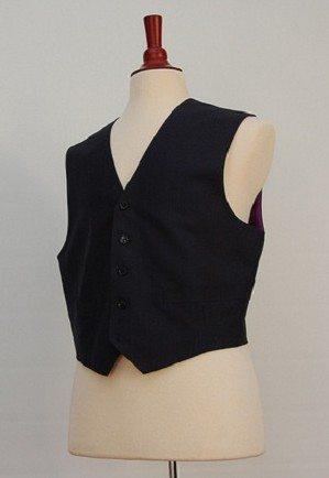 mens custom vest