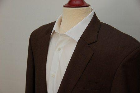Men's Sharkskin Jacket and Pocketsquare