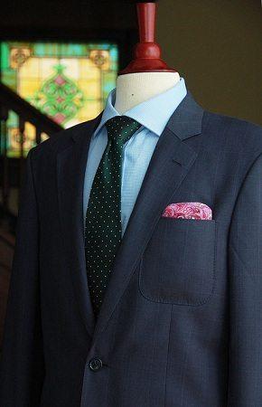 Men's Suit Full View