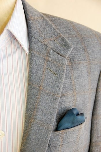 sport jacket tweed interview