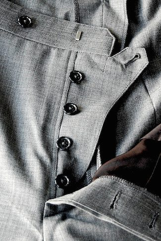 Grey Men's Trousers